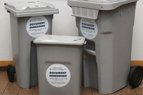 Document Shredding - NCSS Document Management